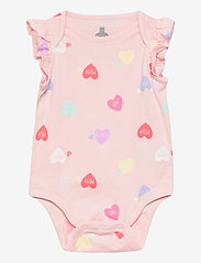GAP - Baby 100% Organic Cotton Mix and Match Graphic Bodysuit - kurzärmelige - mom2 - 0