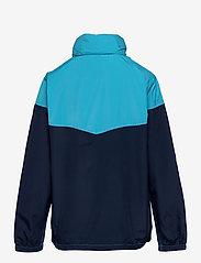 GAP - Kids 100% Recycled Polyester Colorblock Windbuster - windbreaker jassen - cyan blue 579 - 1
