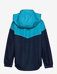 GAP - Kids 100% Recycled Polyester Colorblock Windbuster - windbreaker jassen - cyan blue 579 - 2