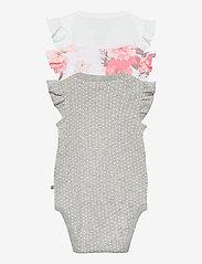 GAP - Baby Ruffle Bodysuit (3-Pack) - kurzärmelige - optic white - 1