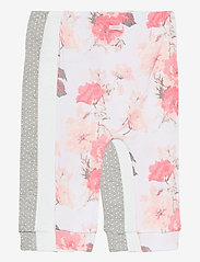 GAP - Baby Floral Pull-On Pants (3-Pack) - trousers - optic white - 5