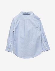 GAP - Toddler Oxford Button-Down Shirt - shirts - blue opal 420 - 2
