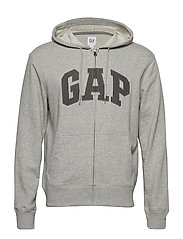 ESA XLS FT GAP ARCH FZ HD - LIGHT HEATHER GREY