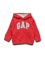 Toddler Gap Logo Hoodie Sweatshirt - RED WAGON