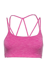 GapFit Breathe Low Support Strappy Sports Bra - ELECTRIC FUCHSIA
