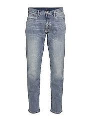 Slim Straight Jeans with GapFlex - MEDIUM INDIGO