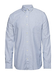 Lived-In Stretch Oxford Shirt - BENGAL STRIPES