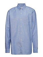 Lived-In Stretch Oxford Shirt - IMPERIAL BLUE
