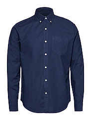 Lived-In Stretch Oxford Shirt - TAPESTRY NAVY