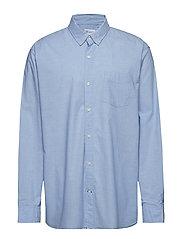 Lived-In True Wash Poplin Shirt - LIGHT BLUE