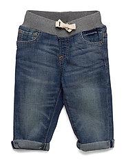 Toddler Slim Jeans with Stretch - MEDIUM WASH