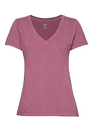 Vintage Wash V-Neck T-Shirt - CLIFF ROSE