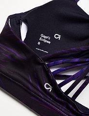 GAP - GapFit Eclipse Medium Support Strappy Sports Bra - urheiluliivit: medium tuki - indigo palm print - 3