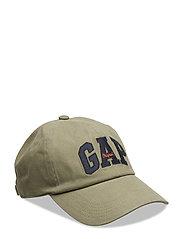 Logo Baseball Hat - OLIVE 005