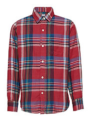 SH LS DBLWV - RED PLAID
