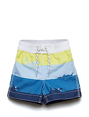 SWIM TRUNK - AURORA YELLOW