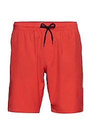 V-SWIM TRUNK - HULA RED