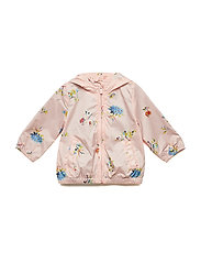 Toddler Floral Jersey-Lined Windbuster - PINK FLORAL 1