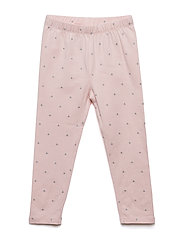 Toddler Print Leggings In Stretch Jersey - BABE PINK DOT