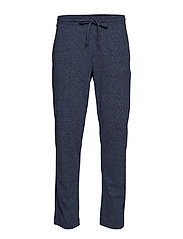 Drawstring Lounge Pants - NAVY MARL