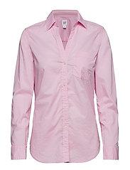 Fitted Boyfriend Shirt - LIGHT PINK