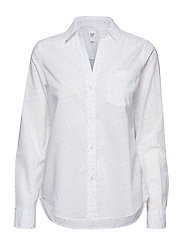 FITTED BF SHIRT - WHITE STAR PRINT