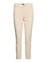 TR SKINNY ANKLE WASHED COLOR - BUTTERMILK YELLOW