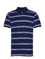 All Day Pique Polo Shirt - DEEP COBALT