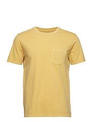 Vintage Wash Pocket T-Shirt - FRENCH ALMOND