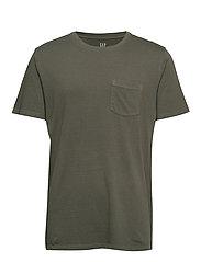 Gap 50th Anniversary Vintage Wash Pocket T-Shirt - HOLLY 613