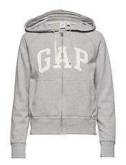GAP LRX CLSC FZ HD - HEATHER GREY