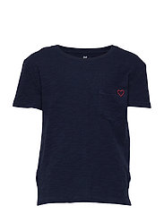 PKT EMB TEE - NAVY UNIFORM