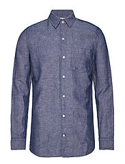 LS LINEN COTTON - MEDIUM INDIGO 8