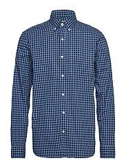 Lived-In Stretch Poplin Shirt - BUXTON BLUE