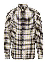 Lived-In Stretch Poplin Shirt - YELLOW TATTERSTALL