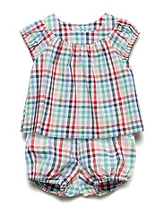 CF PLAID SET - MULTI