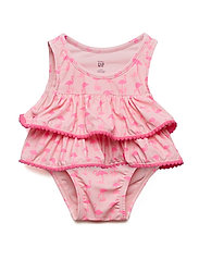 TIERED SWM 2PC - BELLE PINK