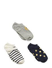 G Ns 3pk Emoji Sockor Strumpor Multi/mönstrad GAP