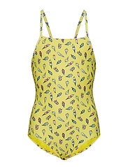 STRAPPY 1PC - VIBRATING YELLOW