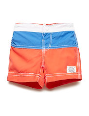 SWIM TRUNK - NEW CORAL