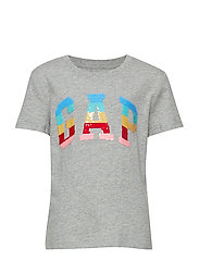 V-GAP FLP TEE - B10 GREY HEATHER