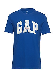 Gap Logo Crewneck T-Shirt - ADMIRAL BLUE