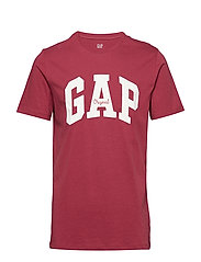 Gap Logo Crewneck T-Shirt - INDIAN RED