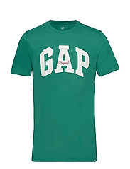 Gap Logo Crewneck T-Shirt - IRISH CLOVER
