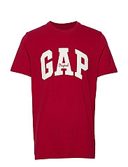 Gap Logo Crewneck T-Shirt - LASALLE RED