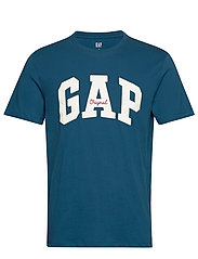 Gap Logo Crewneck T-Shirt - MAGICAL BLUE