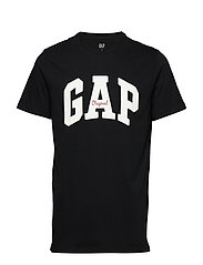 Gap Logo Crewneck T-Shirt - TRUE BLACK