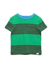Toddler Stripe Short Sleeve T-Shirt - GREEN GABLES