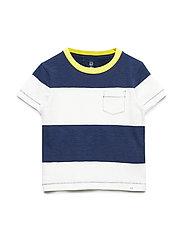 Toddler Stripe Short Sleeve T-Shirt - NEW OFF WHITE