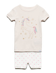 Sh Tg Unicorn Sj Pyjamas Set Creme GAP